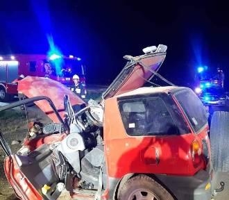 Fatalnie wyglądający wypadek. 24-latek ma sądowy zakaz prowadzenia! [ZDJĘCIA]