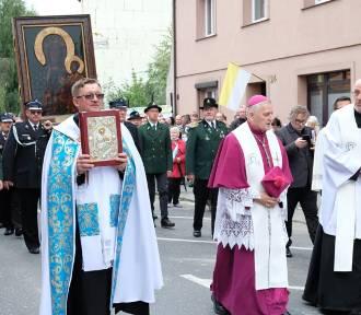 Pniewy powitały kopię cudownego obrazu Matki Boskiej Częstochowskiej