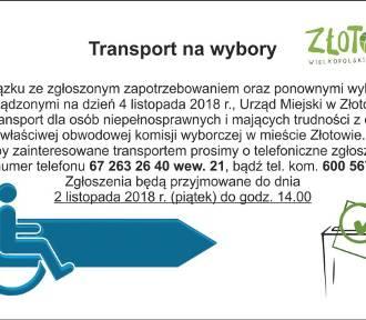 Transport na wybory