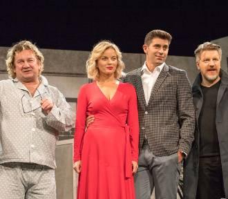 """Przedpremierowy pokaz spektaklu """"Nina"""" w Teatrze Buffo. W roli tytułowej Małgorzata Foremniak"""