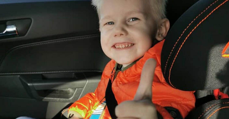 4-letni Oluś, który wypadł z 11