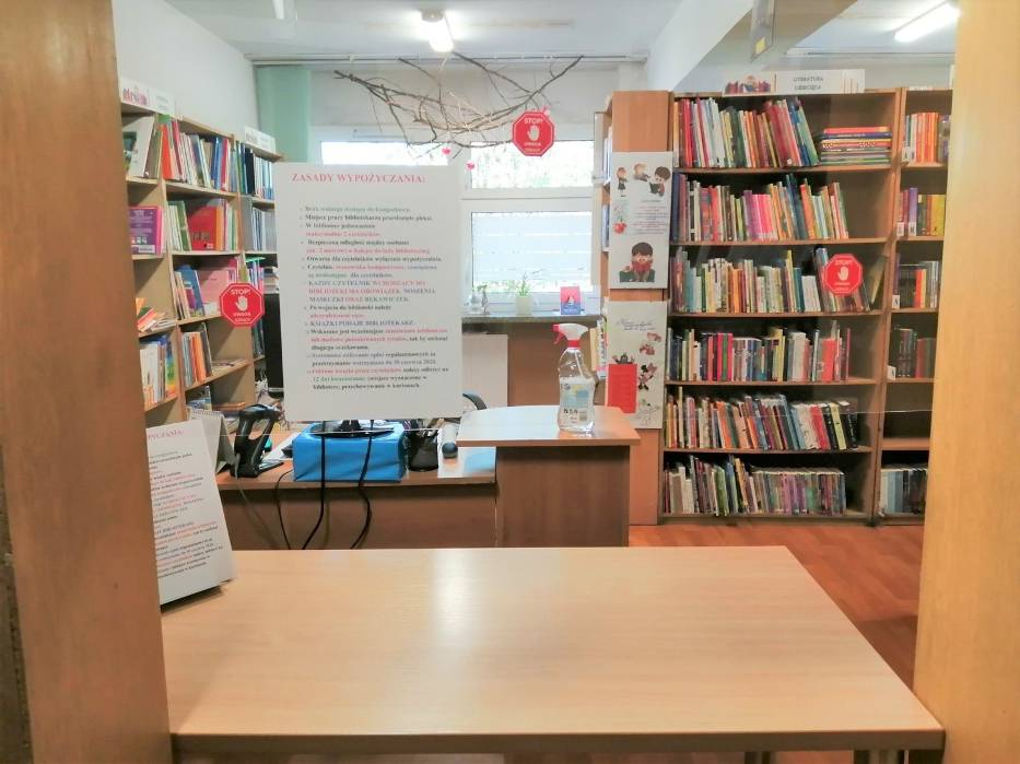 Biblioteki w gminie Nakło otworzyły drzwi