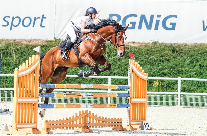 Martyna Michalska z Gorzowa ma dwa konie