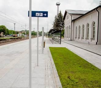 Wałbrzych: Zakończyła się przebudowa peronu na stacji Szczawienko (ZDJĘCIA)