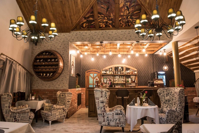 Wnętrze restauracji Rock and Rondel w Tychach