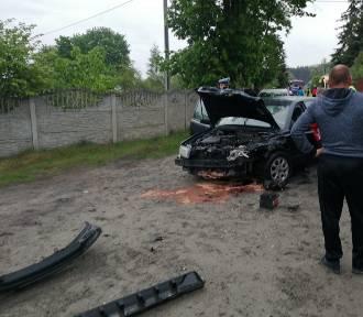 Wypadek w Wałdowie Szlacheckim. Jeden z kierowców był pijany