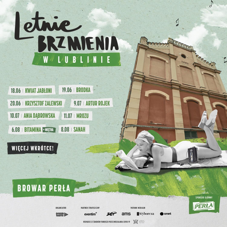 Letnie Brzmienia 2021 w Lublinie - program