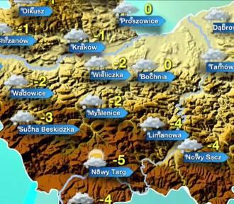 Pochmurny czwartek, opady deszczu ze śniegiem