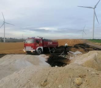 Nadal niebezpiecznie na polach uprawnych - dochodzi do pożarów ściernisk [ZDJĘCIA]