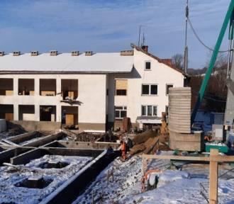 Raczkowa: Trwają prace przy budowie Domu Pomocy Społecznej