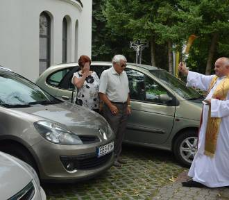 Święcenie pojazdów w parafiach w Bełchatowie na imieniny Krzysztofa,patrona kierowców