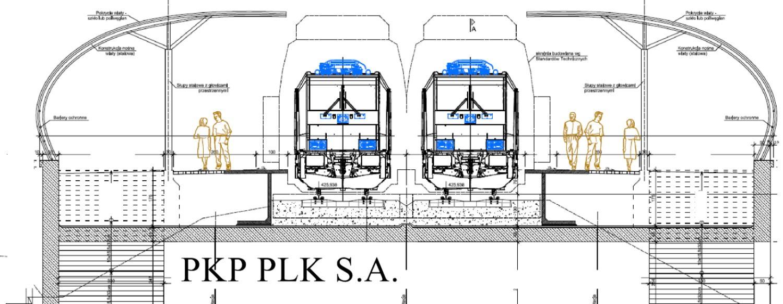Wizualizacja stacji kolejowej Wałbrzych Śródmieście