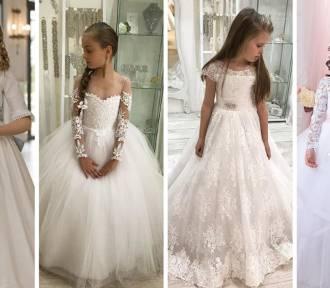 Komunia = mały ślub? Najmodniejsze SUKIENKI KOMUNIJNE 2019