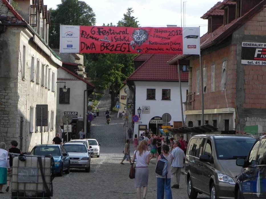 Na Dwóch Brzegach w Kazimierzu Dolnym (2012 r
