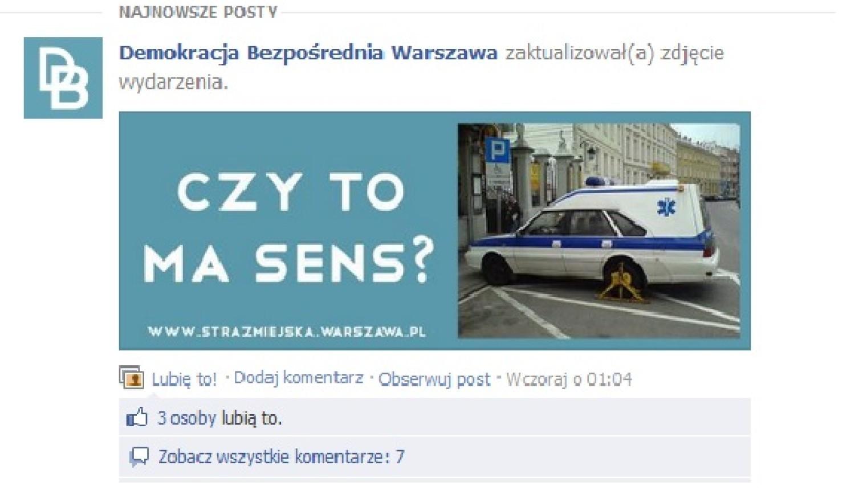 Chcą referendum w sprawie likwidacji straży miejskiej