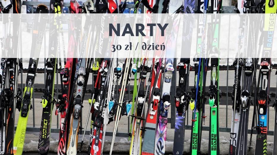 Decydując się na naukę jazdy na nartach zwykle nie inwestujemy w sprzęt