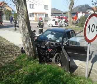 Bałdowo: Zderzyły się dwa samochody osobowe. Ranne dwie osoby! [ZDJĘCIA]
