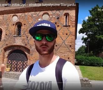 Youtuber z Wrocławia nagrał filmik o stargardzkich zabytkach. Jak się podoba?