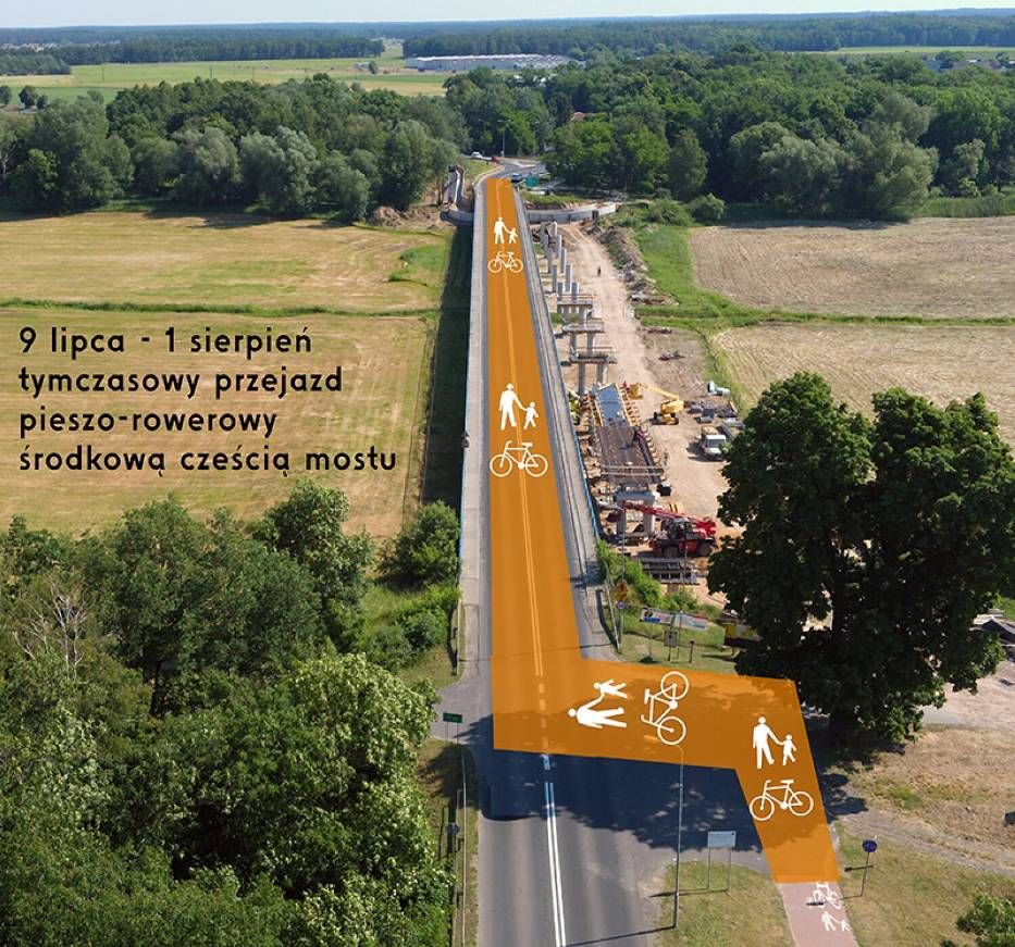 Remont mostu na kanale ulgi w Śremie. Za tydzień rusza remont mostu nad kanałem ulgi