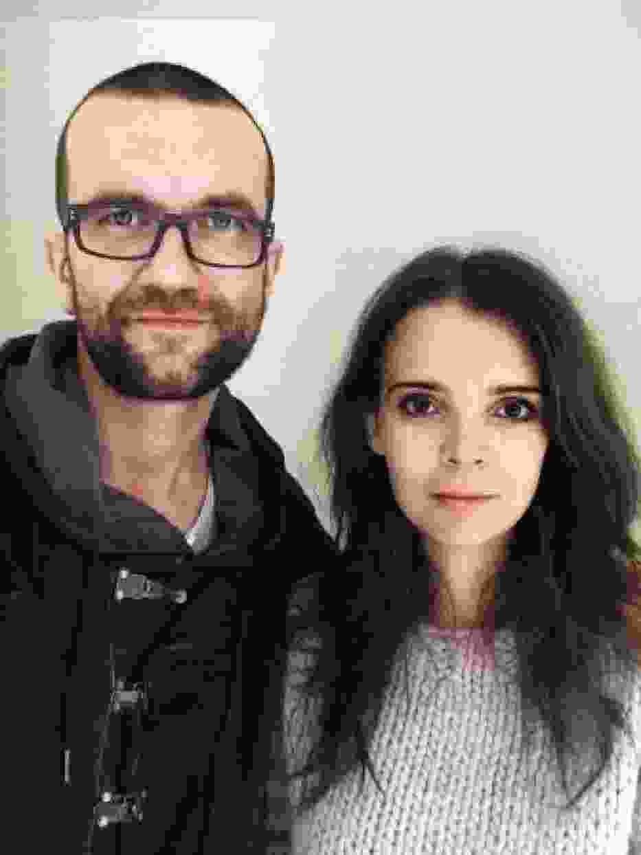 Tomasz Kot z żoną
