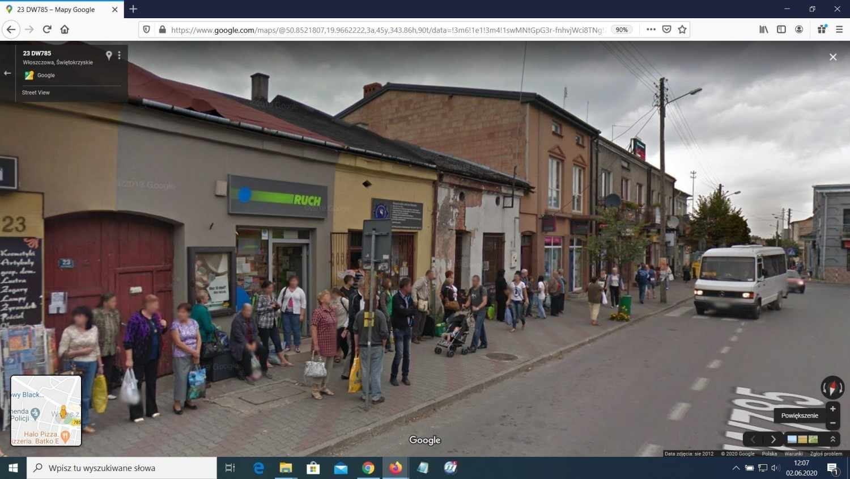 Mamy Cię! Upolowani przez pojazd z logo Google na ulicach Włoszczowy. Może to Ty jesteś na którymś zdjęciu? (FOTO)