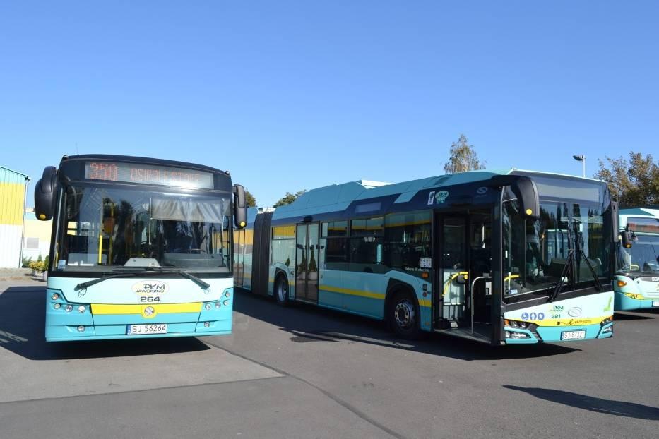 Autobusy PKM Jaworzno