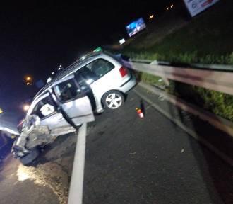 Nietrzeźwy taksówkarz spowodował wypadek na DK 15