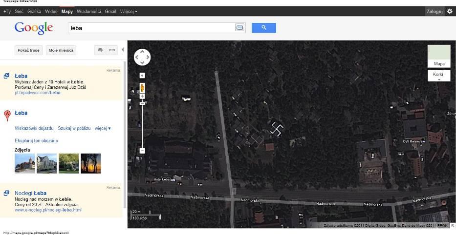Mapa google po aktualizacji