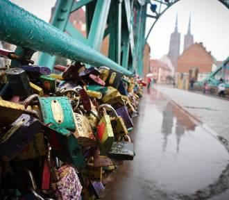 Wrocław. Zakochani! Zabierajcie swoje kłódki z Mostu Tumskiego!
