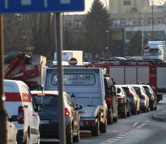 Karambol w centrum Katowic sparaliżował ruch