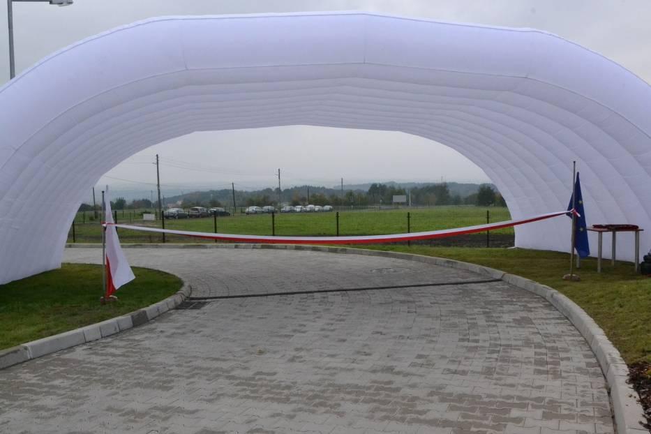 Chwila przed otwarciem Centrum Medycyny Weterynaryjnej UR na Bielanach