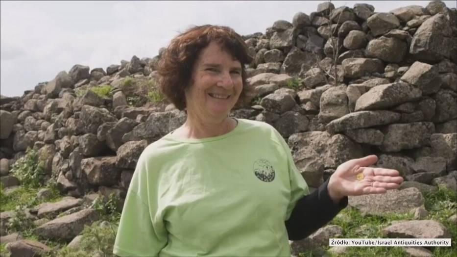 Znalazła monetę z czasów Chrystusa, która została wybita na terenie starożytnego Rzymu!