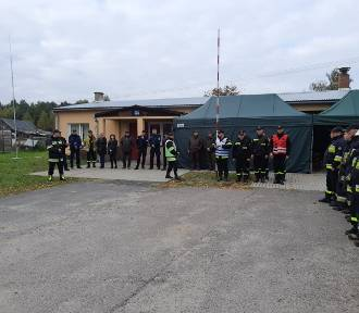 Ćwiczenia zgrywające jednostek OSP i służb powiatu świdnickiego