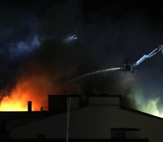 Pożar poddasza w domu jednorodzinnym w powiecie aleksandrowskim