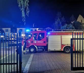 W Brodnicy na parkingu ul. Ogrodowej płonął samochód opel corsa