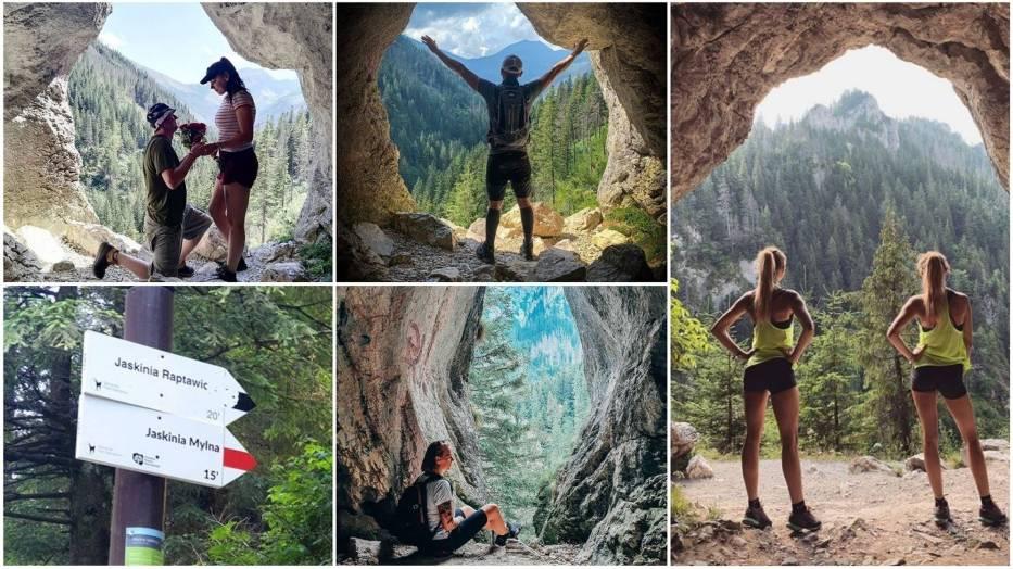 Jaskinia Mylna w Tatrach. Instagramerzy dosłownie oszaleli na punkcie tego miejsca
