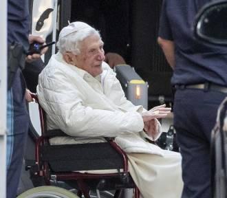 Papież Benedykt XVI odwiedził ciężko chorego brata Georga