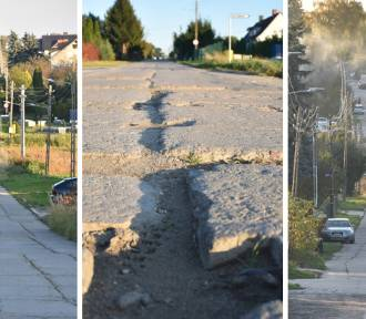 Mieszkańcy Szerokiej mają dość betonowych płyt. Kiedy doczekają się remontu?