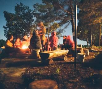 Czterech mieszkańców Chełma spotkało się przy ognisku