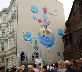Nowy mural w Poznaniu, a na nim Mały Książę