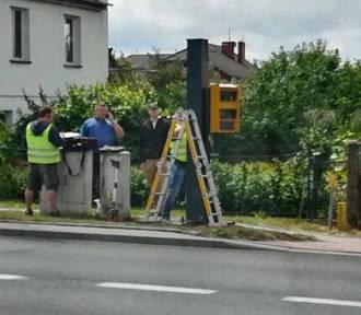 Chcieli świateł, dostali fotoradar w Krośnie Odrzańskim. Czy on poprawi bezpieczeństwo na skrzyżowaniu?