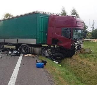 Tragiczny wypadek na DK19 w Borownicy. Zginęło 2-letnie dziecko, dwie osoby w szpitalu