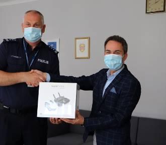 Policja w Kaliszu dostała od miasta drona. Do czego go wykorzysta? ZDJĘCIA