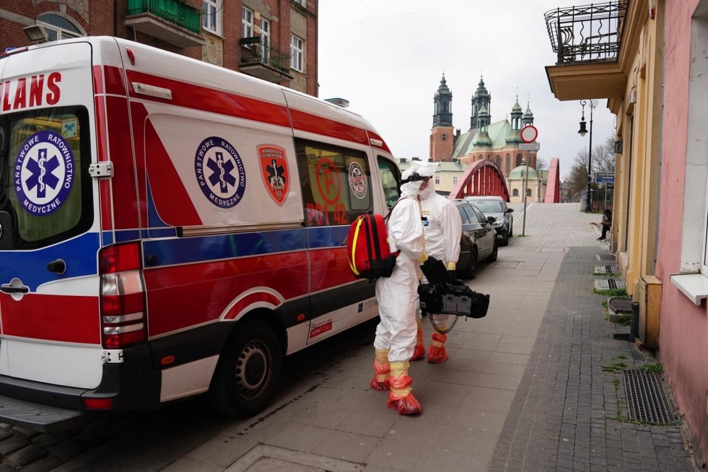 Ratownicy medyczni na poznańskiej Śródce