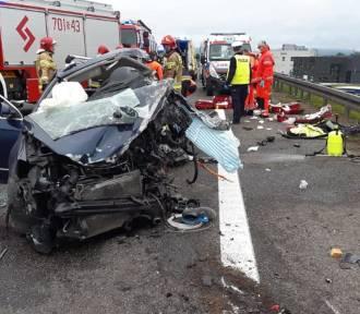 Tragiczny wypadek na S1 w Wieprzu