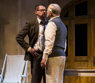 Deprawator w Teatrze Polskim w Warszawie. Miłosz, Gombrowicz i Herbert na jednej scenie [ZDJĘCIA]