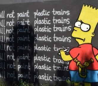 Zaskakujące graffiti i street art w Żorach. Są bohaterowie kreskówek