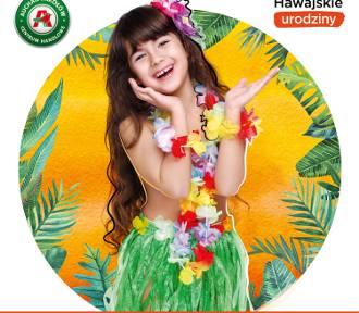 Hawajskie urodziny w centrum handlowym