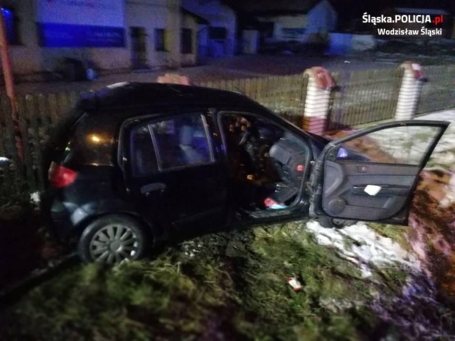 Wypadek w Mszanie