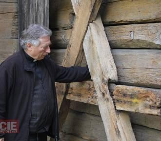 Trwa remont zabytkowego kościoła w Starymgrodzie [ZDJĘCIA + FILM]